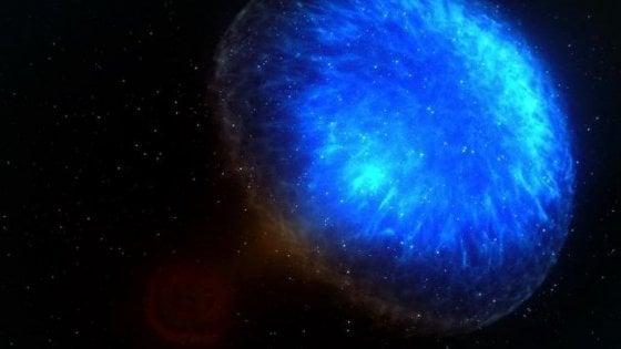 Dalla fusione tra due stelle di neutroni un getto di particelle superveloce