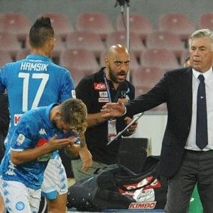 """Napoli, Hamsik: """"Io in panchina? L'ha deciso Ancelotti"""". Ghoulam pronto per la Juve"""