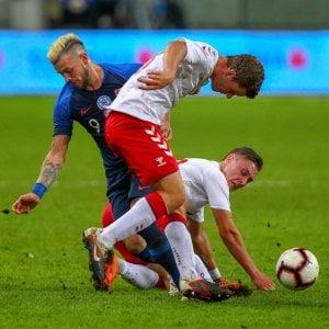 Amichevoli: Danimarca ko 3-0 con la Slovacchia, ma l'onore è salvo