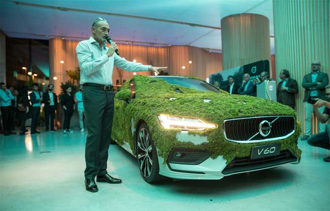 Volvo, la protezione dell'ambiente come mission