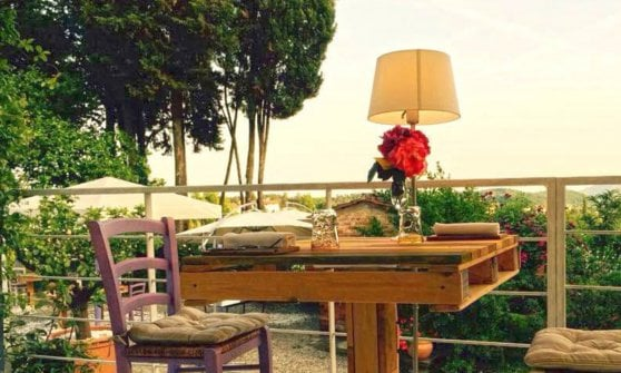 Ma come si mangia bene nei giardini incantati della Toscana