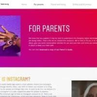Instagram lancia un sito per i genitori in cui insegna i segreti dell'app e come parlare con i figli