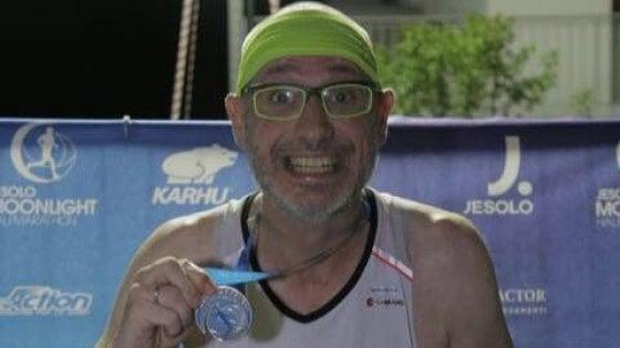 """Fabrizio, """"La mia maratona contro il cancro per tutti i malati"""""""