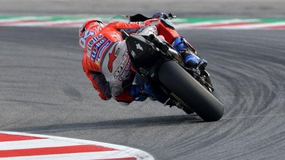 MotoGp, San Marino: Dovizioso guida le prime libere, Marquez e Rossi si nascondono