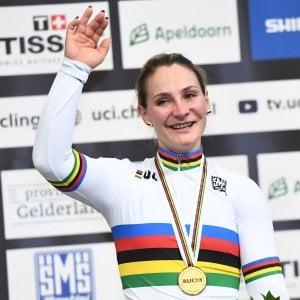 """Ciclismo, il dramma di Kristina Vogel: """"Paralizzata dopo incidente"""""""