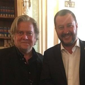 Salvini incontra Steve Bannon e aderisce a The Movement