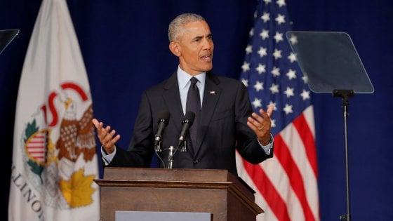 Usa, Obama tuona:
