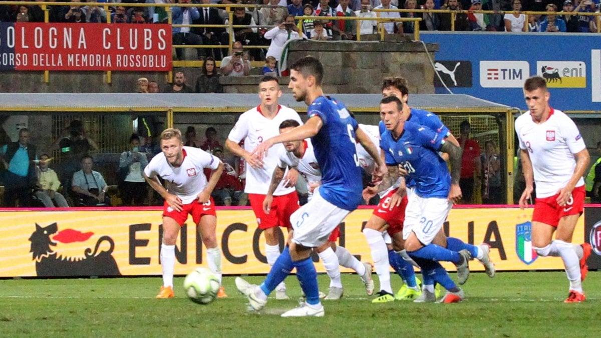 <b>Italia</b>-Polonia 1-1, gli azzurri faticano ma ripartono