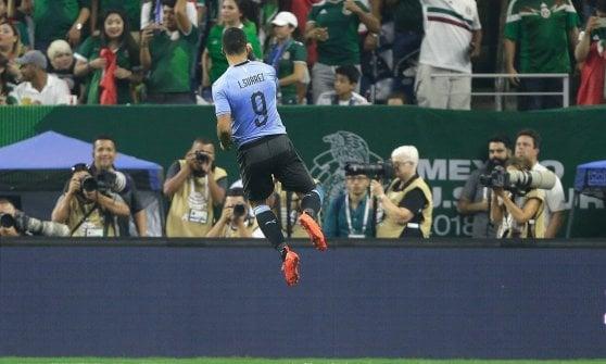 Amichevoli: festa Brasile, Uruguay e Argentina, Simeone debutto con gol