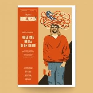 Robinson, dieci anni senza DFW