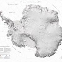 La nuova mappa del Polo Sud