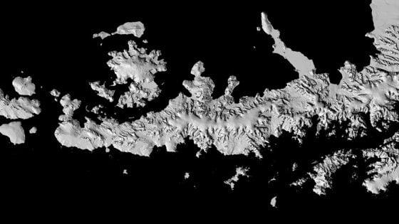 Ecco la mappa dell'Antartide, la più precisa mai realizzata