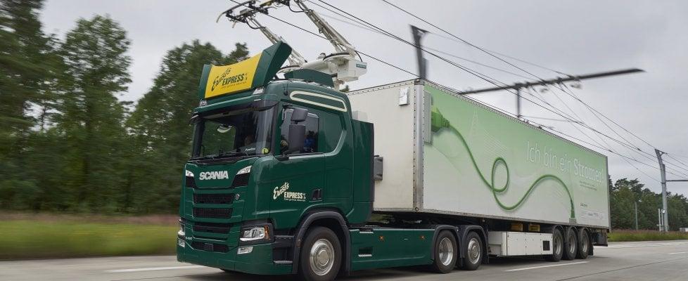Arrivano in Italia le autostrade elettrificate