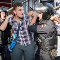 Russia, oltre 1000 fermi alle proteste contro la riforma delle pensioni