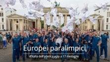 Europei paralimpici di atletica: per l'Italia ai campionati di Berlino 17 medaglie