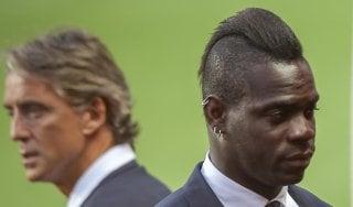 Portogallo-Italia, Mancini spedisce Balotelli in tribuna