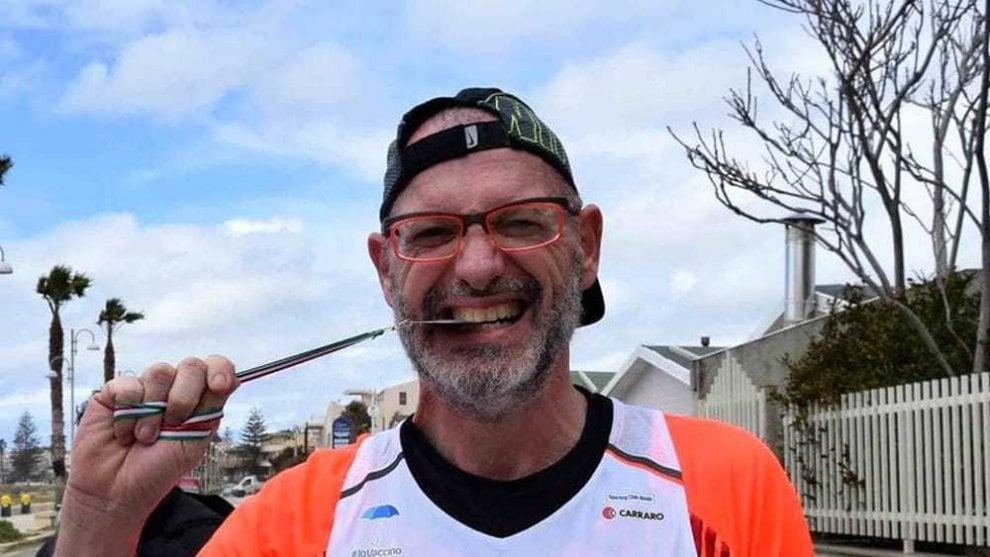 'Corri in muso al cancro': le tappe di Fabrizio dopo il tumore al pancreas