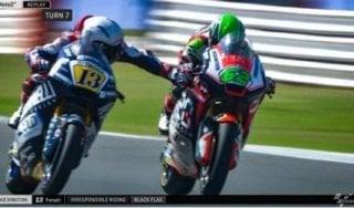 Moto2, Fenati si scusa: ''Non sono stato un uomo''. Ma il team lo licenzia, MV Agusta non lo vuole più
