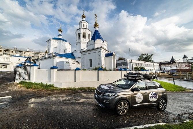 Sulle orme della Via della Seta con la Peugeot 3008 - Alla Scoperta della di Kazan e delle sue particolarità  Tratta: Vladimir (Russia)- Kazan (Russia)