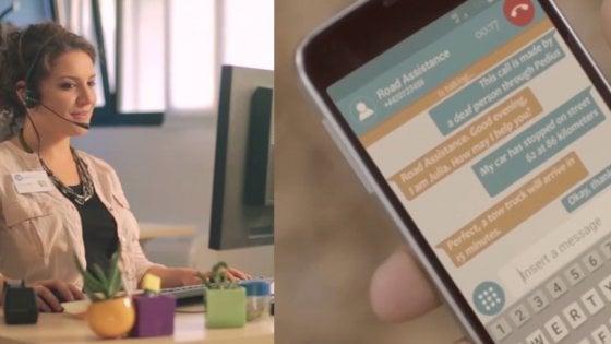 In Cina l'app italiana che permette ai non udenti di telefonare