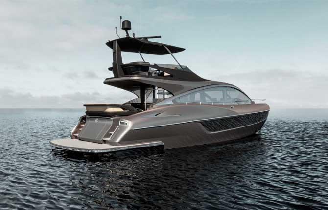 LY 650, prende forma il luxury yacht Lexus