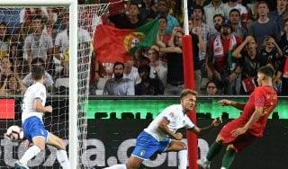 Portogallo-Italia 1-0: lavori in corso per gli azzurri, decide André Silva