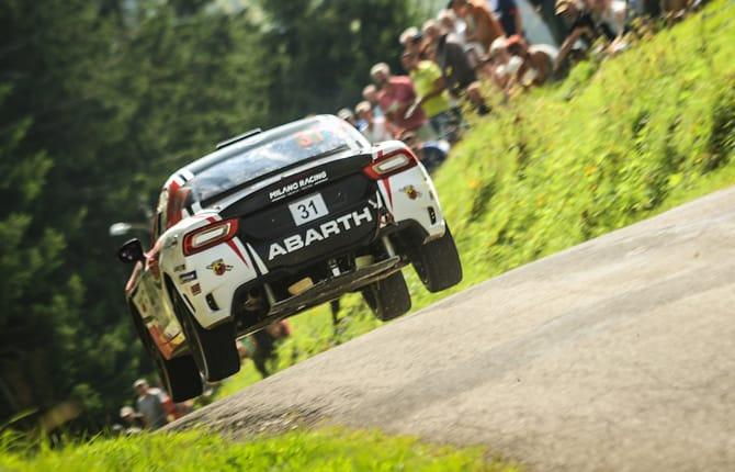 Abarth 124 rally, weekend sul podio