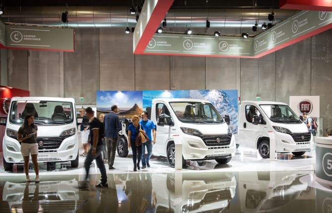 Salone del Camper 2018, Fiat in prima linea