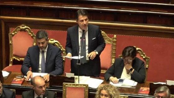 """Diciotti, Conte: """"Una brutta pagina per l'Europa, basta accoglienza indiscriminata"""""""