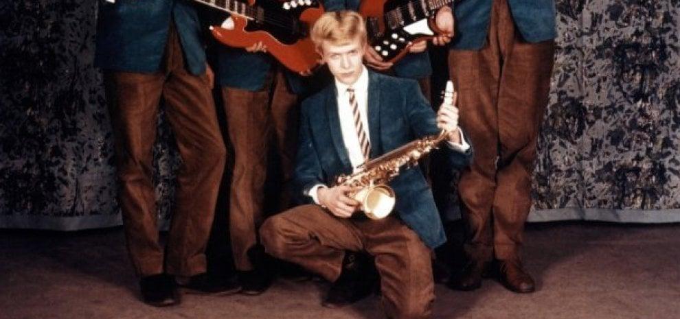 David Bowie, la prima incisione all'asta per 40mila sterline