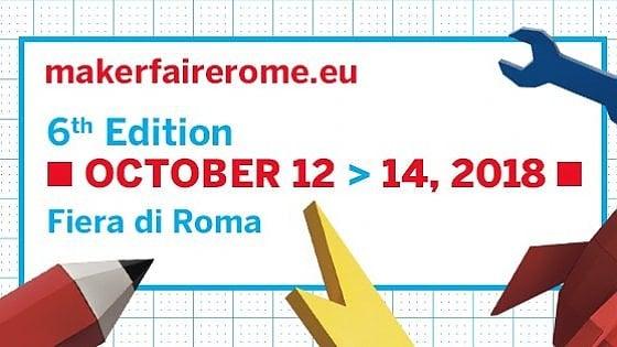 Torna la Maker Faire, Roma diventa la capitale dell'innovazione