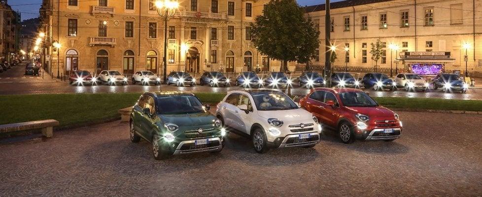 La nuova 500X rafforza il legame con il cinema e la città di Torino