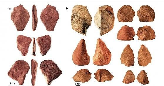 E l'uomo, 73mila anni fa, disegnò un cancelletto