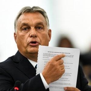 """L'Ungheria dopo la condanna Ue: """"Una meschina vendetta contro di noi"""""""