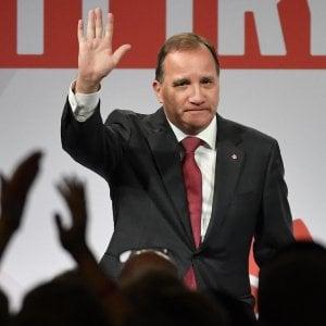 """In Svezia l'alleanza """"borghese"""" sfida il premier Löfvén: """"Dimettiti o ti sfiduciamo"""""""