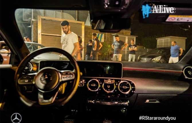Mercedes-Benz Classe A, attrice di una web series