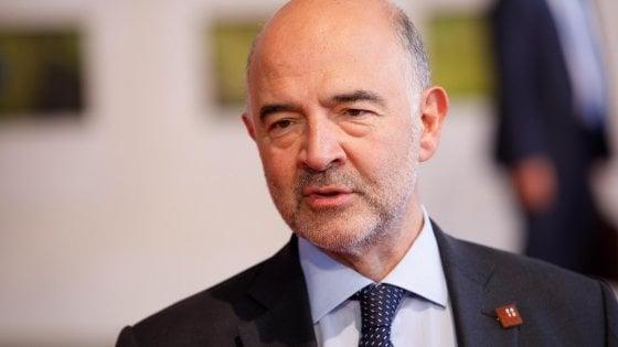 Moscovici, monito all'Italia: È un problema, sia credibile sul Bilancio. In giro per l'Europa vedo dei piccoli Mussolini