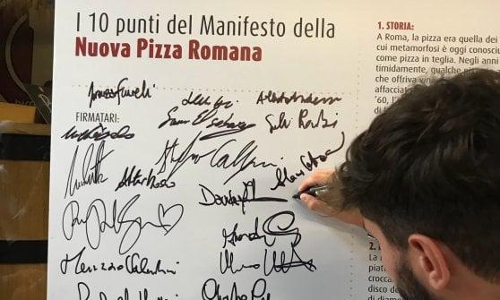 """""""Per la pizza romana da oggi cambia tutto"""": in un Manifesto la sfida della qualità"""