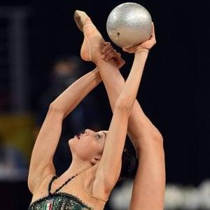 Ginnastica ritmica, Mondiali: Baldassarri è argento nel nastro