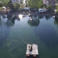 Nel lago di Nicea l'antica basilica sommersa