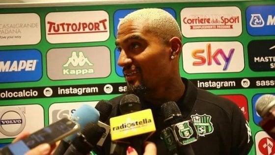 """Sassuolo, Boateng: """"De Zerbi è un genio, con la Juve gara difficilissima"""""""