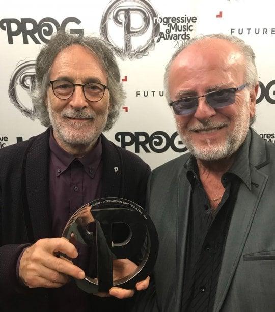 La PFM è la migliore, è suo il trofeo di 'band internazionale dell'anno' ai Prog Awards