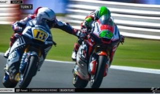 Moto2, il tribunale Federmoto conferma la sospensione cautelare a Fenati