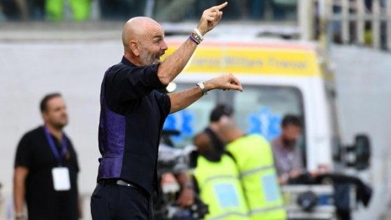 """Fiorentina, Pioli: """"Ancelotti un maestro, su Chiesa aspettative troppo alte"""""""