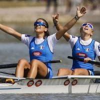 Canottaggio, Mondiali: remano nell'oro i due senza pesi leggeri