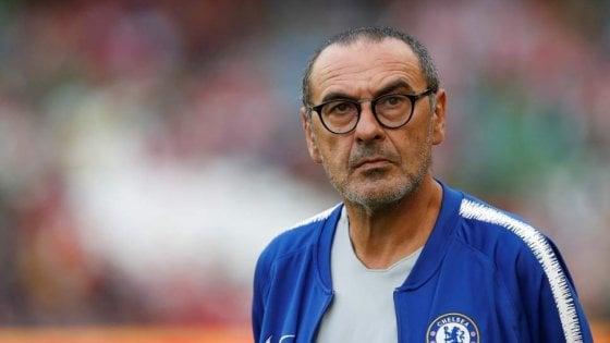"""Chelsea, Sarri fa il pompiere: """"Non possiamo vincere la Premier"""""""