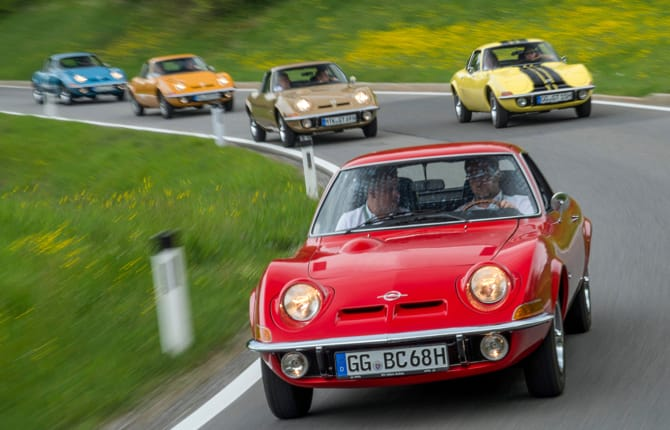 Buon compleanno Opel GT