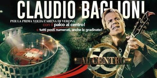 """Baglioni show per i 50 anni: """"La mia musica al centro dell'Arena, per Sanremo c'è tempo"""""""