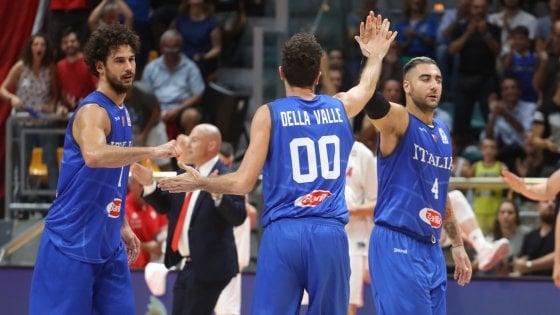 Basket, qualificazioni mondiali: Italia-Polonia 101-82, Della Valle trascina gli azzurri