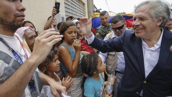 Venezuela: Osa non esclude un intervento